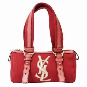 YVES SAINT LAURENT Mini Boston YSL Handbag